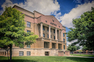 Armstrong Photograph - Armstrong County Courthouse by Joan Carroll