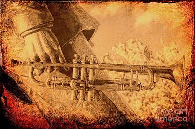 Photograph - Armstrong's Trumpet by Kathleen K Parker