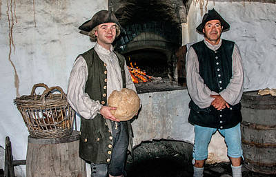 Photograph - Army Bakery 1789 by Patrick Boening