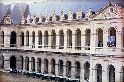 Invalides Photograph - Army Museum Paris France by Joan Carroll