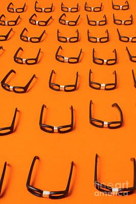 Eyeglasses Photograph - Army Of Nerd Glasses by Jorgo Photography - Wall Art Gallery