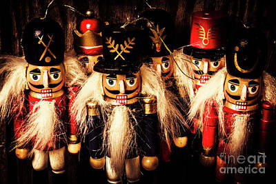 Art Print featuring the photograph Army Of Wooden Soldiers by Jorgo Photography - Wall Art Gallery