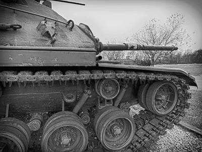 Photograph - Army Tank by Charles McKelroy