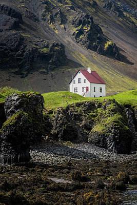 Photograph - Arnarstapi House II by Tom Singleton