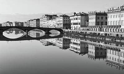 Arno Reflections 1 Art Print