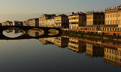 Photograph - Arno Reflections 3 by Steven Greenbaum