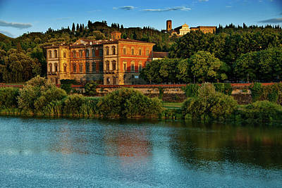 Photograph - Arno River by Harry Spitz
