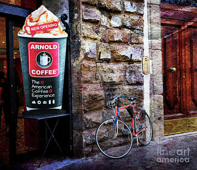 Photograph - Arnold Coffee Bicycle by Craig J Satterlee