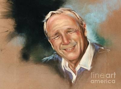 Arnold Palmer Drawing - Arnold Palmer by Mark Sanislo