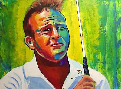 Arnold Palmer Painting - Arnold by Peter Luke