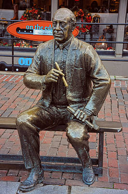 Photograph - Arnold 'red' Auerbach by Mike Martin