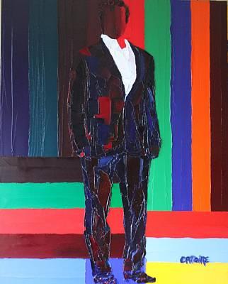 Schwarzenegger Painting - Arnold Schwarzenegger by Valerie Catoire
