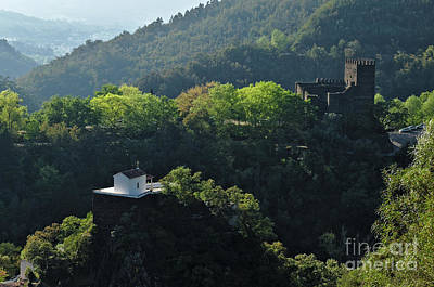 Photograph - Arouce Castle In Lousa by Angelo DeVal