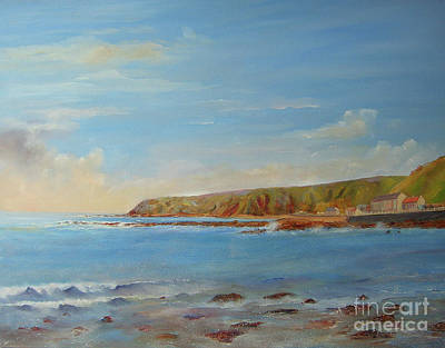 Painting - Around Burnmouth Scotland by Beatrice Cloake