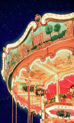Around Christmas Art Print by Iryna Goodall