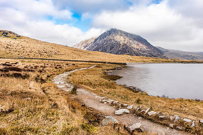 Photograph - Around Llyn Idwal by Nick Bywater