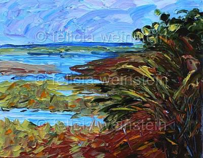 Painting - Around The Bend by Felicia Weinstein