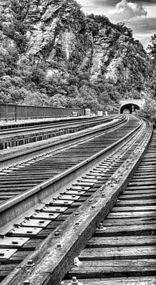Harpers Ferry Photograph - Around The Bend by JC Findley
