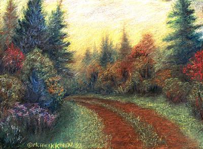 Pastel - Around The Bend 01 by Michael Heikkinen