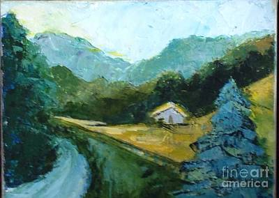 Painting - Around The Bend by Sally Fraser