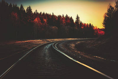 Photograph - Around The Bend by Unsplash