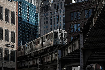 Sears Tower Photograph - Around The Corner, Chicago by Reinier Snijders