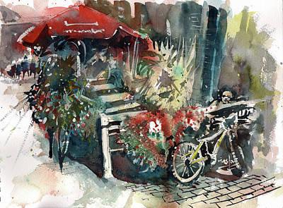 Painting - Around The Market by Gaston McKenzie