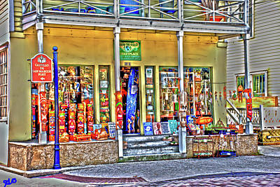 Photograph - Around The World Marketplace Saint Augustine by Gina O'Brien