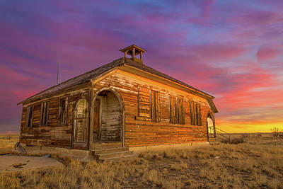 Rural Photograph - Aroya Sunrise by Bridget Calip
