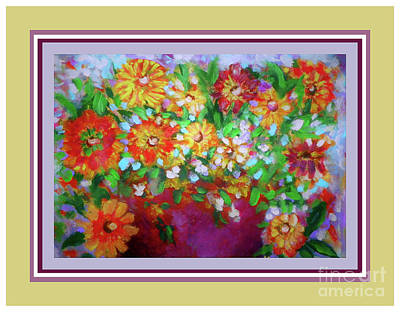 Photograph - Arranged Flowers by Shirley Moravec