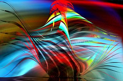 Digital Art - Arrangement I I by rd Erickson