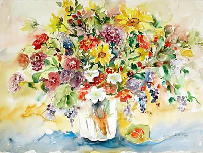 Arrangement IIi Art Print by Alexandra Maria Ethlyn Cheshire