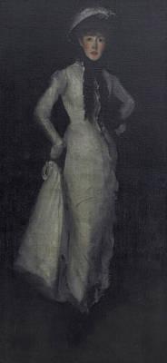 Whistler Painting - Arrangement In White And Black by James Abbott McNeill Whistler
