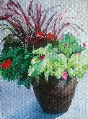 Painting - Arrangement by Marcia L Hochstetter
