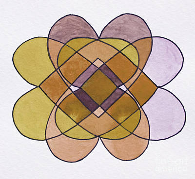 Arrangement Of Forms Art Print