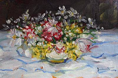 Painting - Arrangement by Owen Hunt