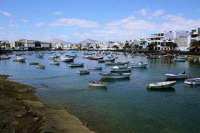 Landscapes Digital Art - Arrecife - Lanzarote by Cambion Art