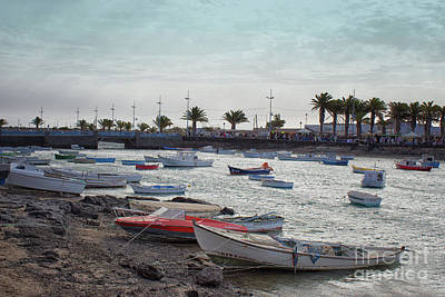 Photograph - Arrecife Lanzarote by Lynn Bolt