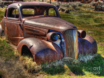 Rusted Cars Photograph - Arrested Decay by Scott McGuire