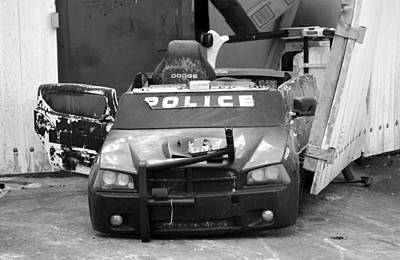 Photograph - Arresting Trash by David Lee Thompson