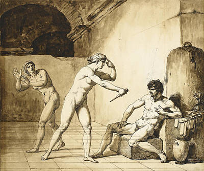 Drawing - Arria And Paetus by Francois-Andre Vincent