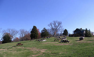 Franklin Tennessee Photograph - Arrington Vineyards Landscape by Marian Bell