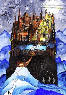 Arrival At Moonlight Kingdom Art Print