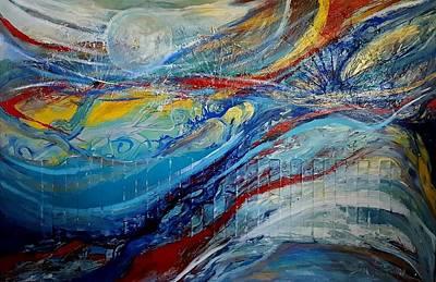Painting - Arrive by Jan VonBokel