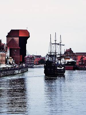 Photograph - Arriving At Gdansk by Dora Hathazi Mendes