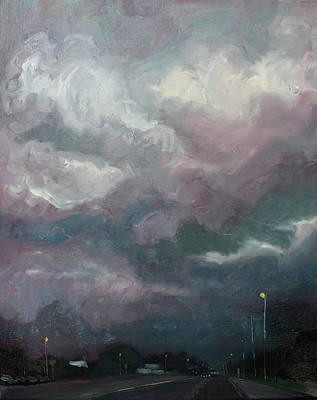 Painting - Arriving Late by Laura Wilson