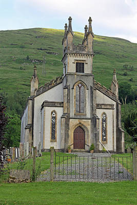 Photograph - Arrochar Parish Church by Tony Murtagh