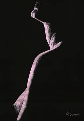 Semi-nude Pastel - Arrogance by Richard Young