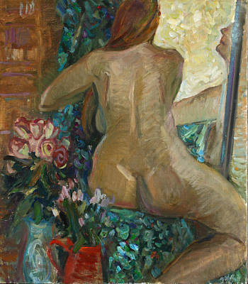 Painting - Arrogant Woman by Juliya Zhukova