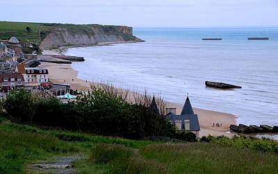 Photograph - Arromanches-les-bain by Eric Tressler